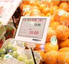 生鲜防水电子标价签